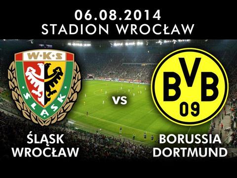 mecz Śląsk - Borussia